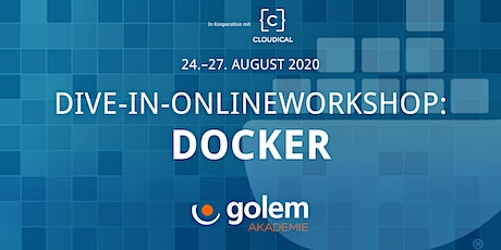 Dive-in-Onlineworkshop: Docker Tickets