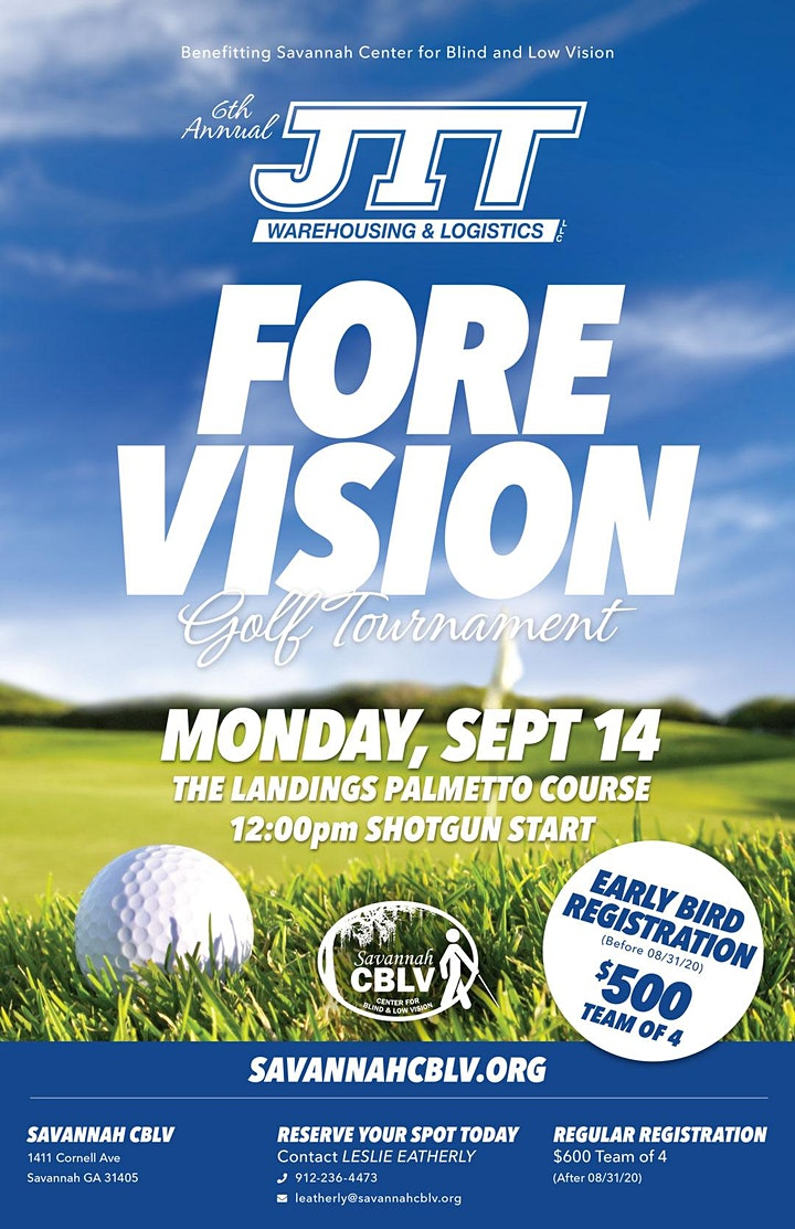 """6th Annual JIT """"FORE Vision"""" Charity Golf Tournament image"""