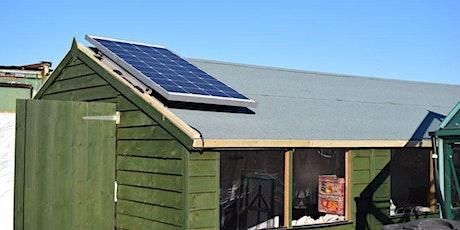 allotment solar power workshop tickets