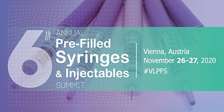 6th Annual Pre-Filled Syringes & Injectables Summit Tickets