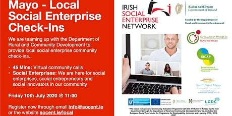 Mayo Local Social Enterprise Check-Ins tickets