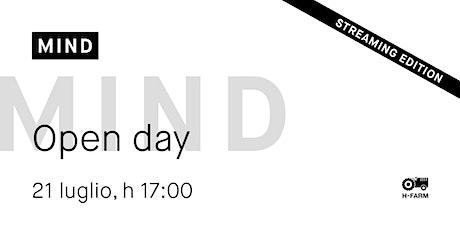 Online Open Day Master MIND in Design e Comunicazione di Prodotto biglietti