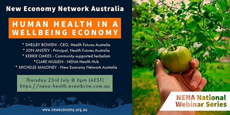 Human health in a wellbeing economy tickets