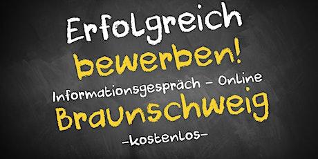 Bewerbungscoaching Online kostenfrei - Infos - AVGS Braunschweig Tickets