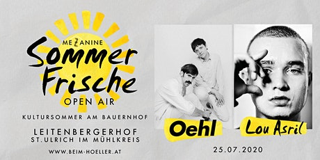 Oehl + Lou Asril | Mezzanine Sommerfrische Open Air Tickets