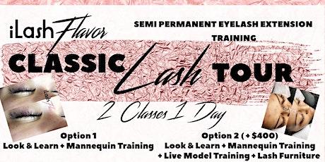 iLash Flavor Eyelash Extension Training Seminar - Los Angeles LA tickets