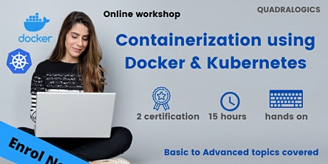 CONTAINERIZATION USING DOCKER AND KUBERNETES tickets