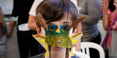 oficina online de construção de máscaras com Renan Soares bilhetes