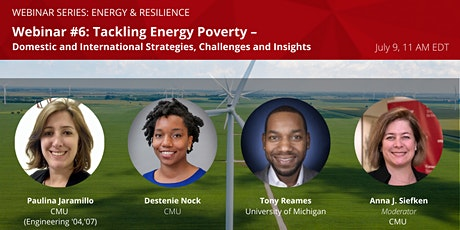 Energy, Resilience, and COVID-19 – Pivoting in 2020: Webinar #6 tickets