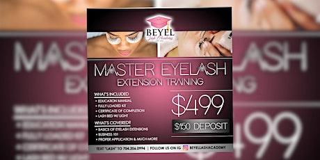 Master Eyelash Extension Training tickets