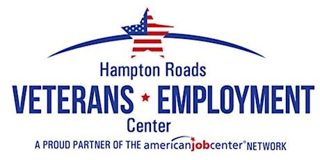 Hampton Roads Veterans Employment Center Federal Employment tickets