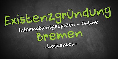 Existenzgründung Online kostenfrei - Infos - AVGS Bremen Tickets