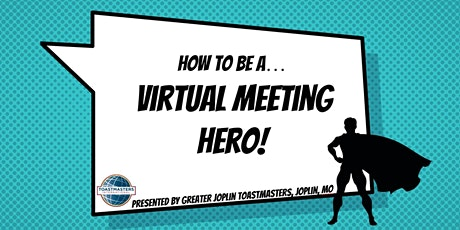 How to be a Virtual Meeting Hero (Webinar) tickets