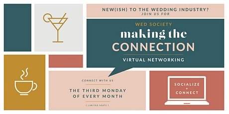 Virtual Networking for New(ish) Wedding Vendors tickets