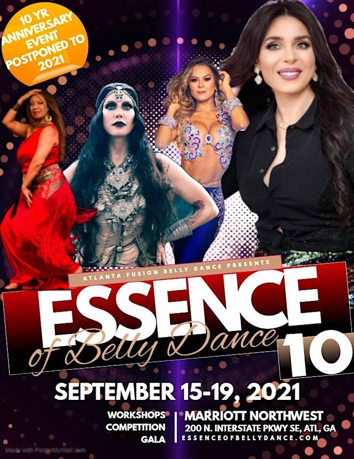 Essence of Belly Dance 10: Cabaret meets Tribal Fusion Belly Dance Workshop image