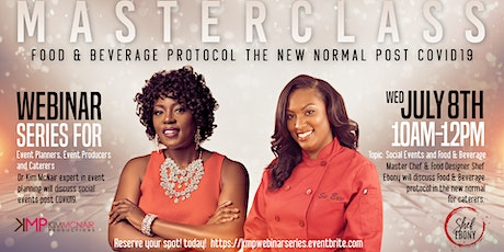 MasterClass Food & Beverage Protocol in the New Normal Post Covid19 tickets