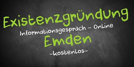 Existenzgründung Online kostenfrei - Infos - AVGS Emden Tickets