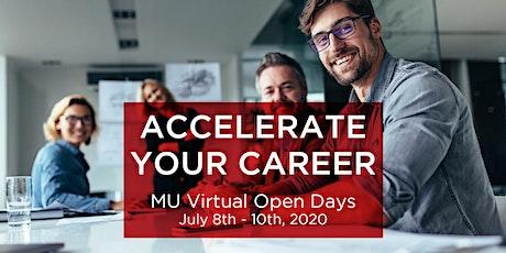 Modul University Virtual Open Days entradas