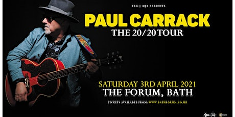 Paul Carrack (The Forum, Bath)*Rescheduled Date* tickets