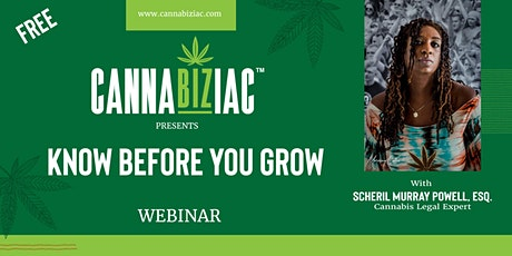 Know Before You Grow With Scheril Murray Powell tickets