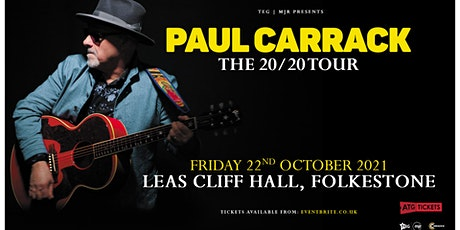 Paul Carrack (Leas Cliff Hall, Folkestone)*Rescheduled Date* tickets