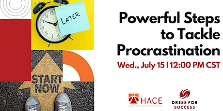 Powerful Steps to Tackle Procrastination tickets