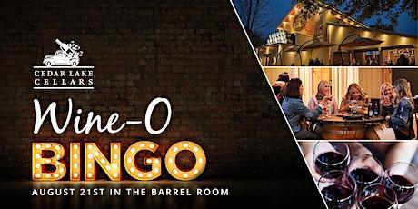 Wine-O Bingo tickets