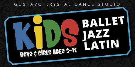 Kids Ballet A Monthly tickets