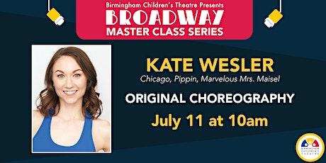 BCT Broadway Master Classes - Kate Wesler tickets
