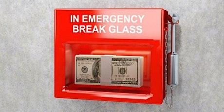Building Emergency Savings tickets