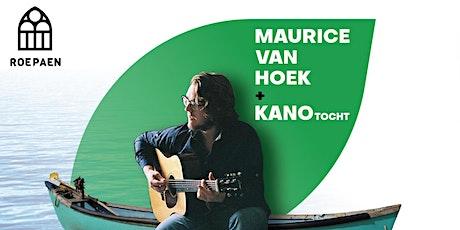 Maurice van Hoek | Kanotocht + concert tickets