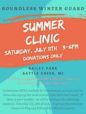 Summer Clinic tickets