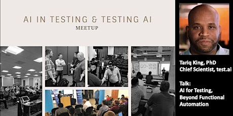 [Online Talk] AI for Testing - Beyond Functional Automation tickets