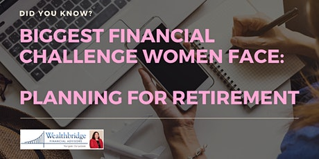 Financial Planning For Women tickets