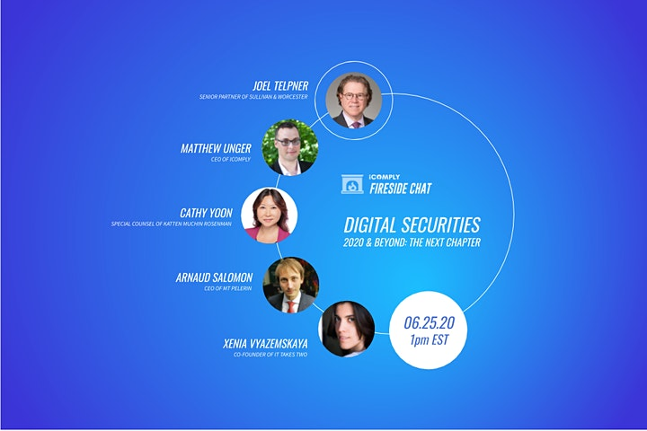 Fireside Chat – Digital Securities: 2020 and Beyond image