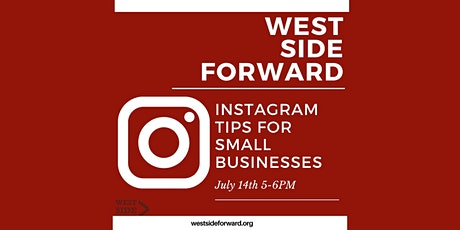Instagram Tips for Small Businesses tickets