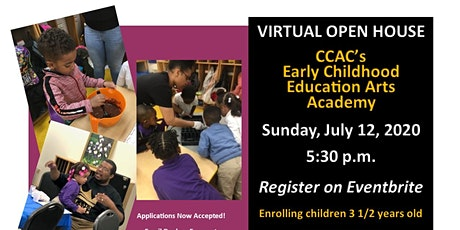 Virtual Open House - Early Childhood Education Arts Academy tickets