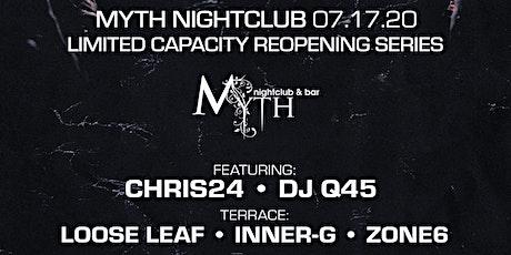 Outlet Fridays at Myth Nightclub | Friday 07.17.20 tickets