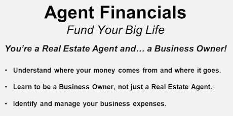 Agent Financials - Virtual! tickets