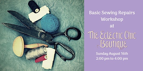 Basic Sewing Repairs Workshop tickets