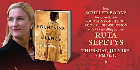 Summer Book Club with Ruta Sepetys, author of The Fountains of Silence tickets