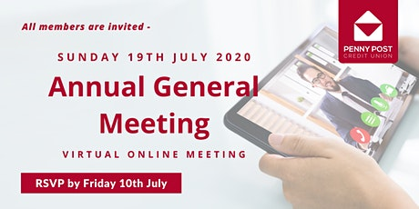 Penny Post Rescheduled Annual General Meeting tickets