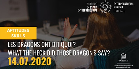CEE: Les dragons ont dit quoi?|EMC: What  the heck did those dragon's say? tickets