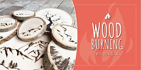Wood Burning 101 with Crystal Bailar (includes 3 classes) tickets