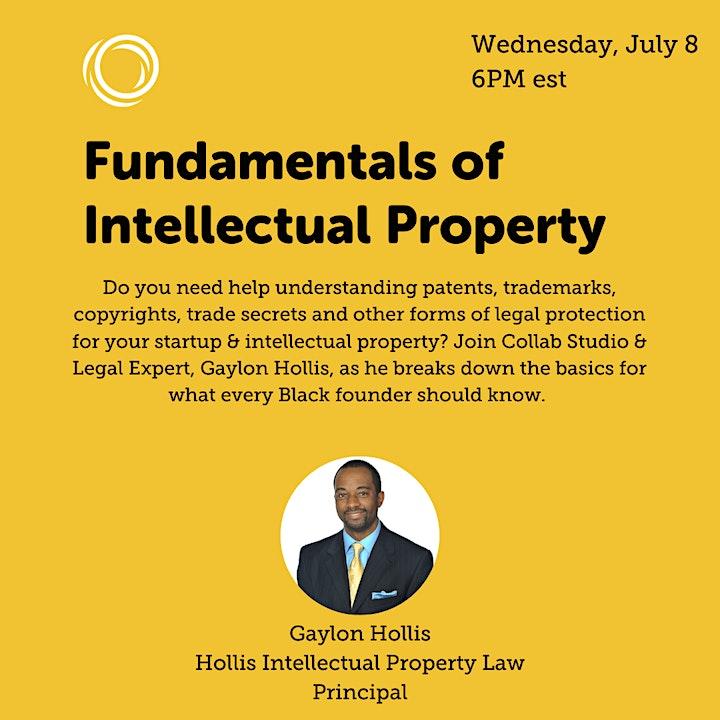 Fundamentals of Intellectual Property image