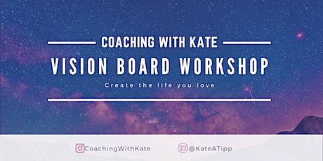 Virtual Vision Board Workshop | 06 July 2020 tickets