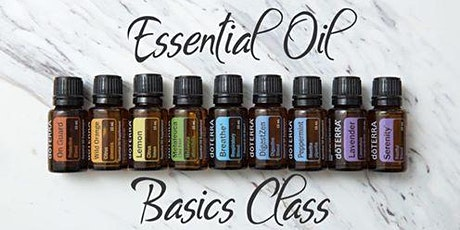 101 Basics of Essential Oils tickets