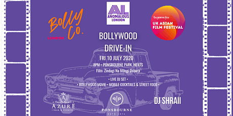 BollyCo x UKAFF x Anomalous London presents | BOLLYWOOD DRIVE-IN CINEMA tickets