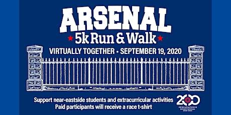 Arsenal 5k Run/Walk 2020 Virtual Race tickets