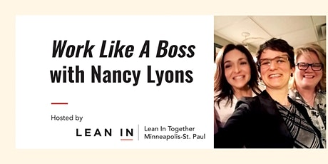Lean In Together MSP -  Work Like a Boss  - Nancy Lyons billets